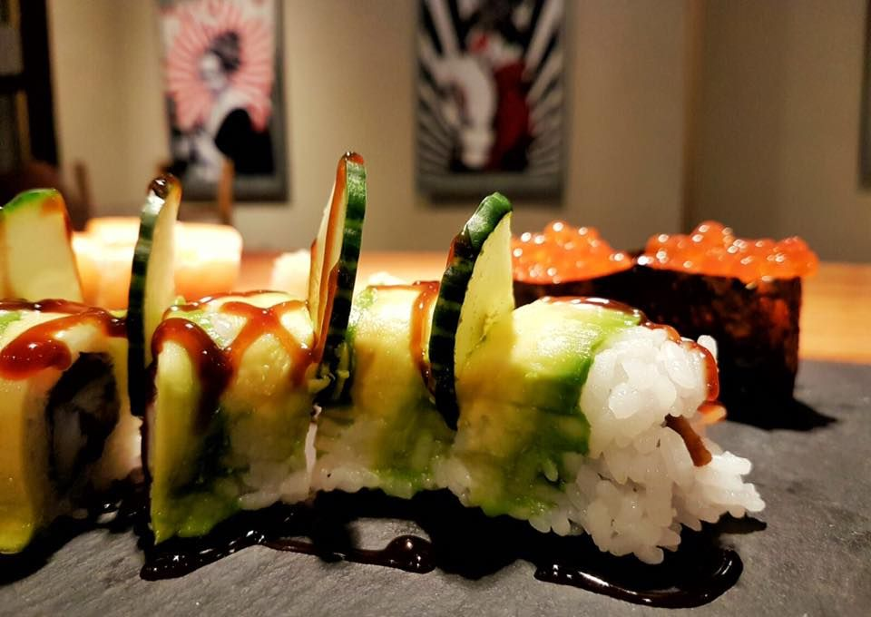 Restaurante de sushi en Eivissa