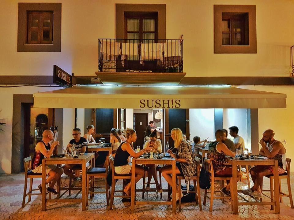 El mejor sitio para comer sushi en Ibiza