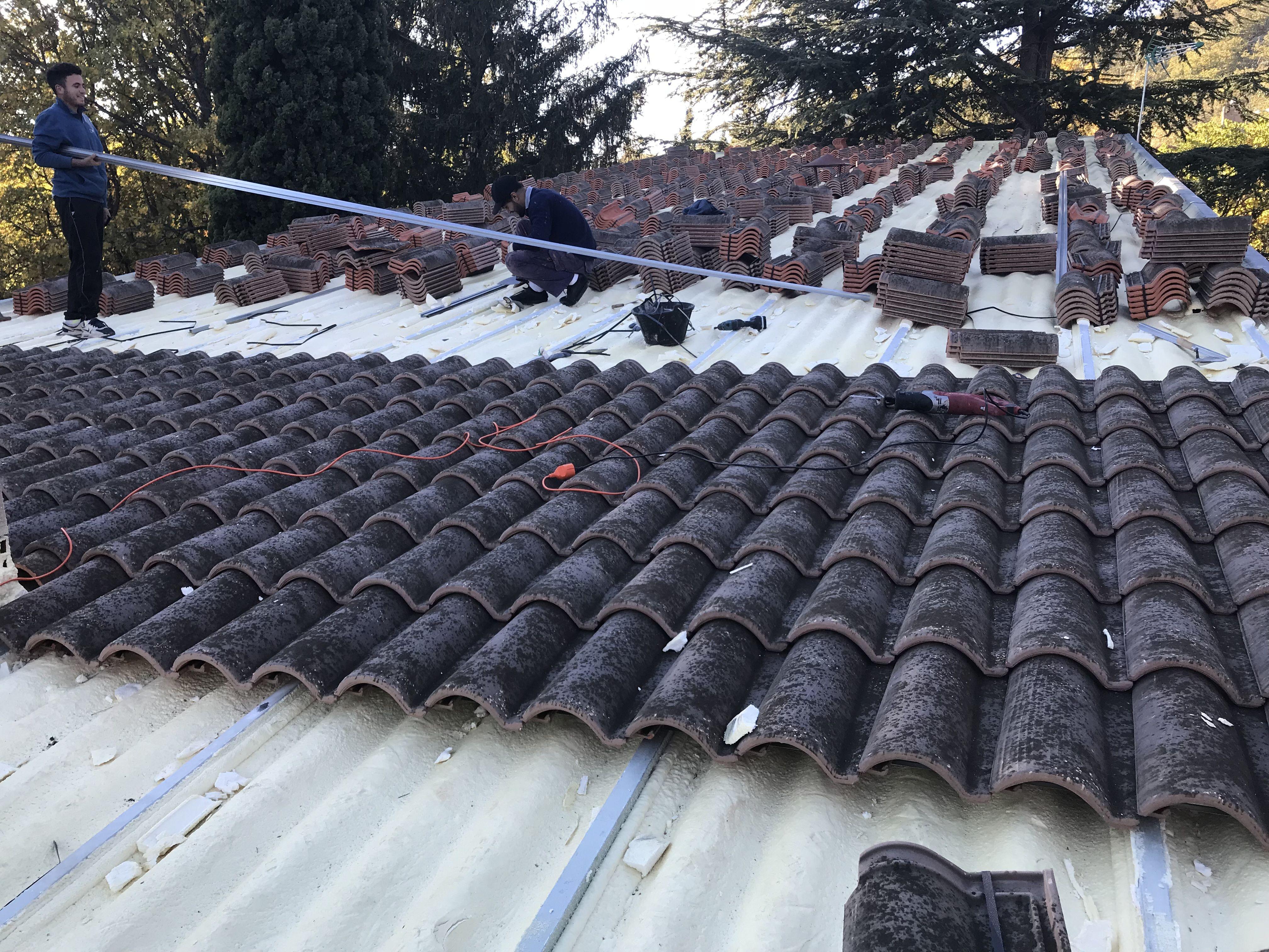 Especializados en el arreglo de tejados en Madrid