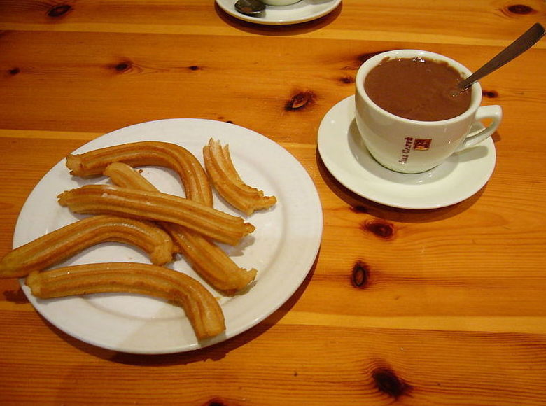 Desayunos : Chocolatería y churrería de Churrería Hermanos López