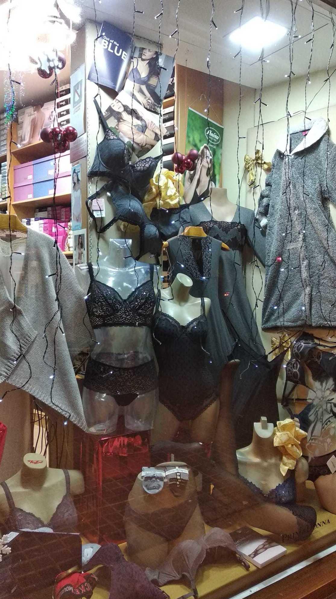 Lencería y corseteria
