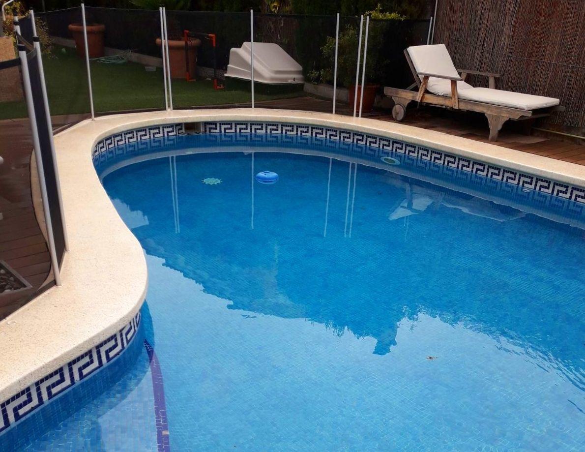 Mantenimiento del agua de las piscinas