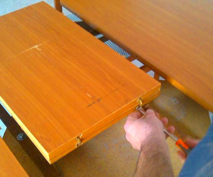 Reparación de mesa de comedor