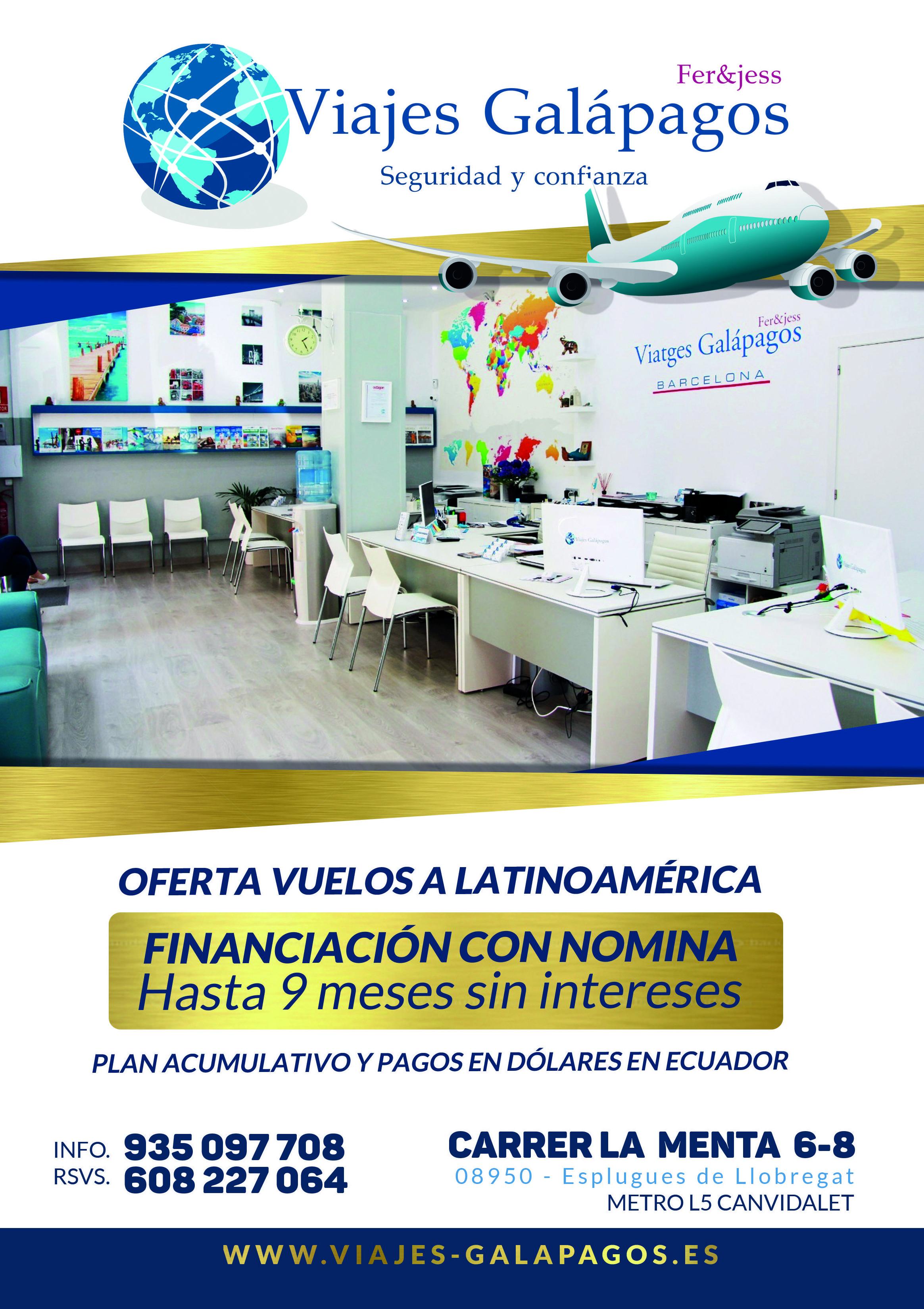 Foto 2 de Agencias de viajes en Esplugues de Llobrega | Viajes Galápagos