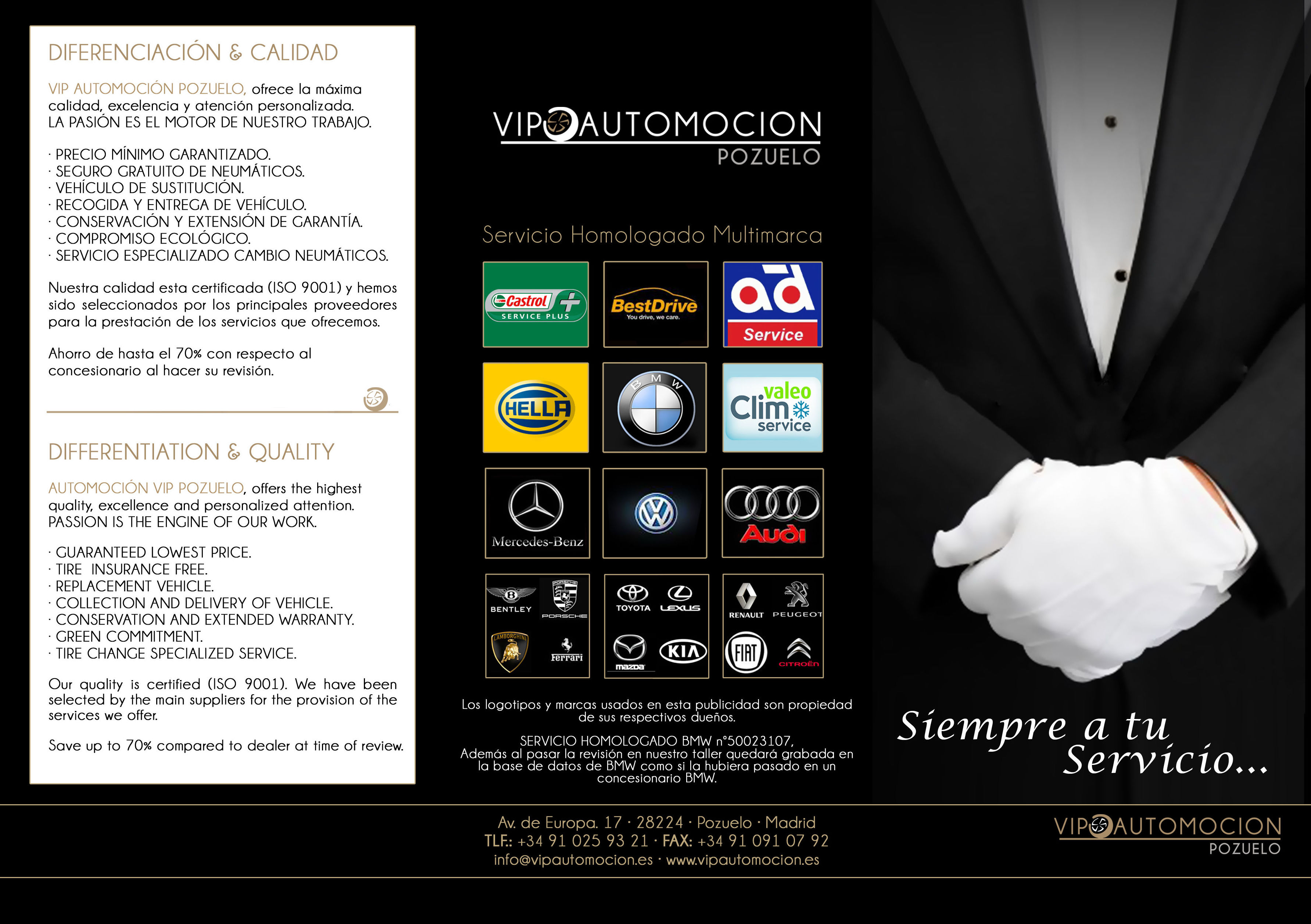 VIP AUTOMOCION POZUELO