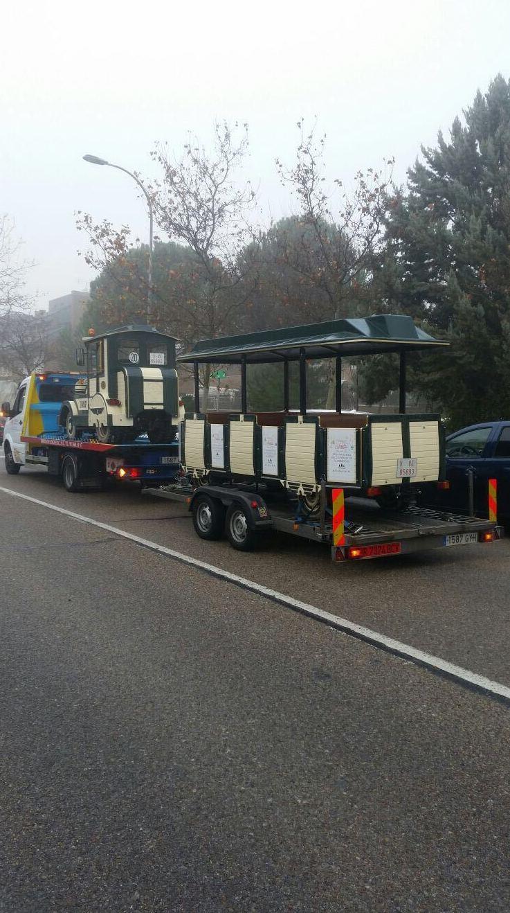 Transporte de vehículos clásicos Madrid