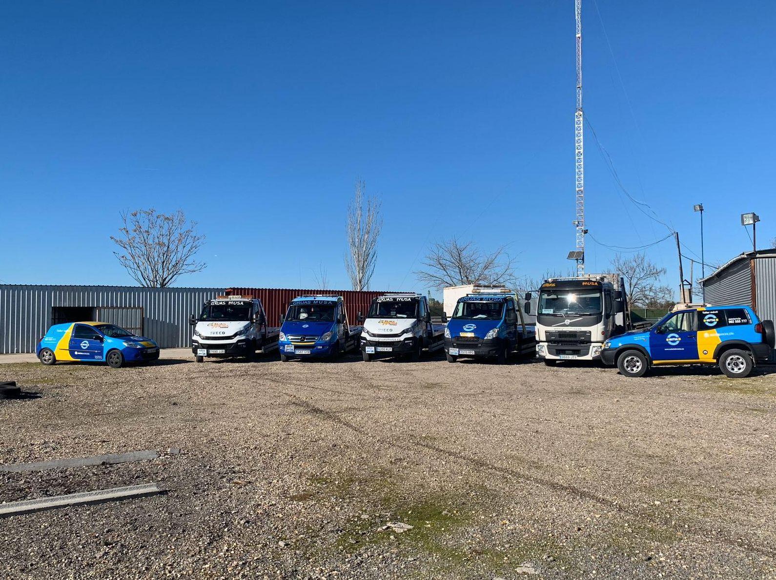 Servicios a furgones sobredimensionados
