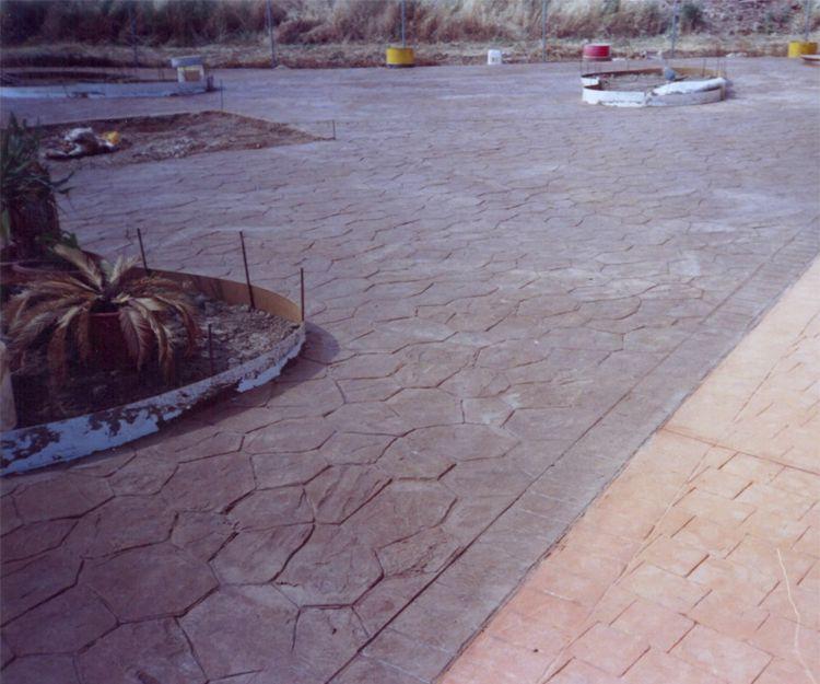 Piedra Pardo y adoquín Naranja 1009