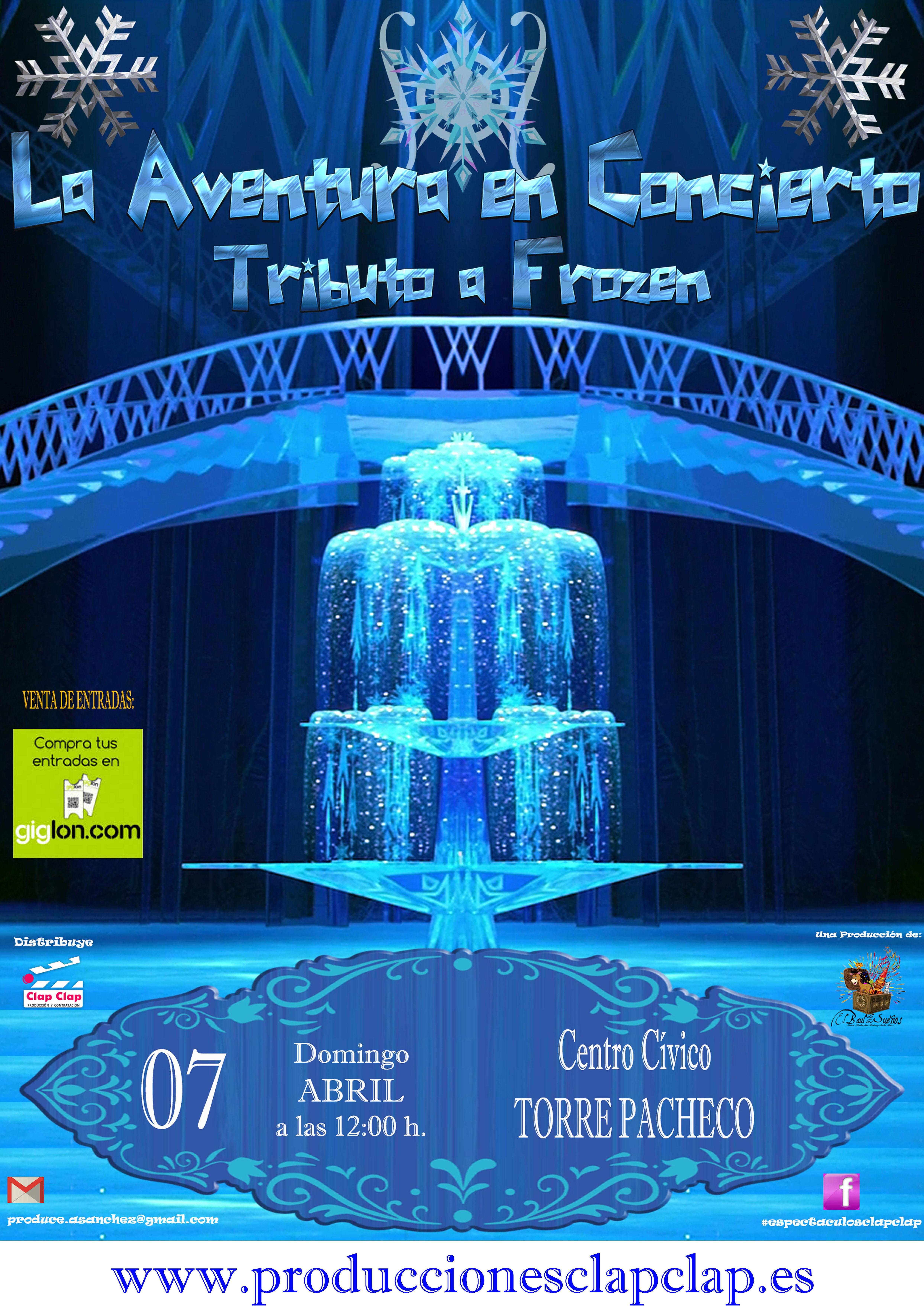 La Aventura en Concierto - Tributo Frozen - Torre Pacheco