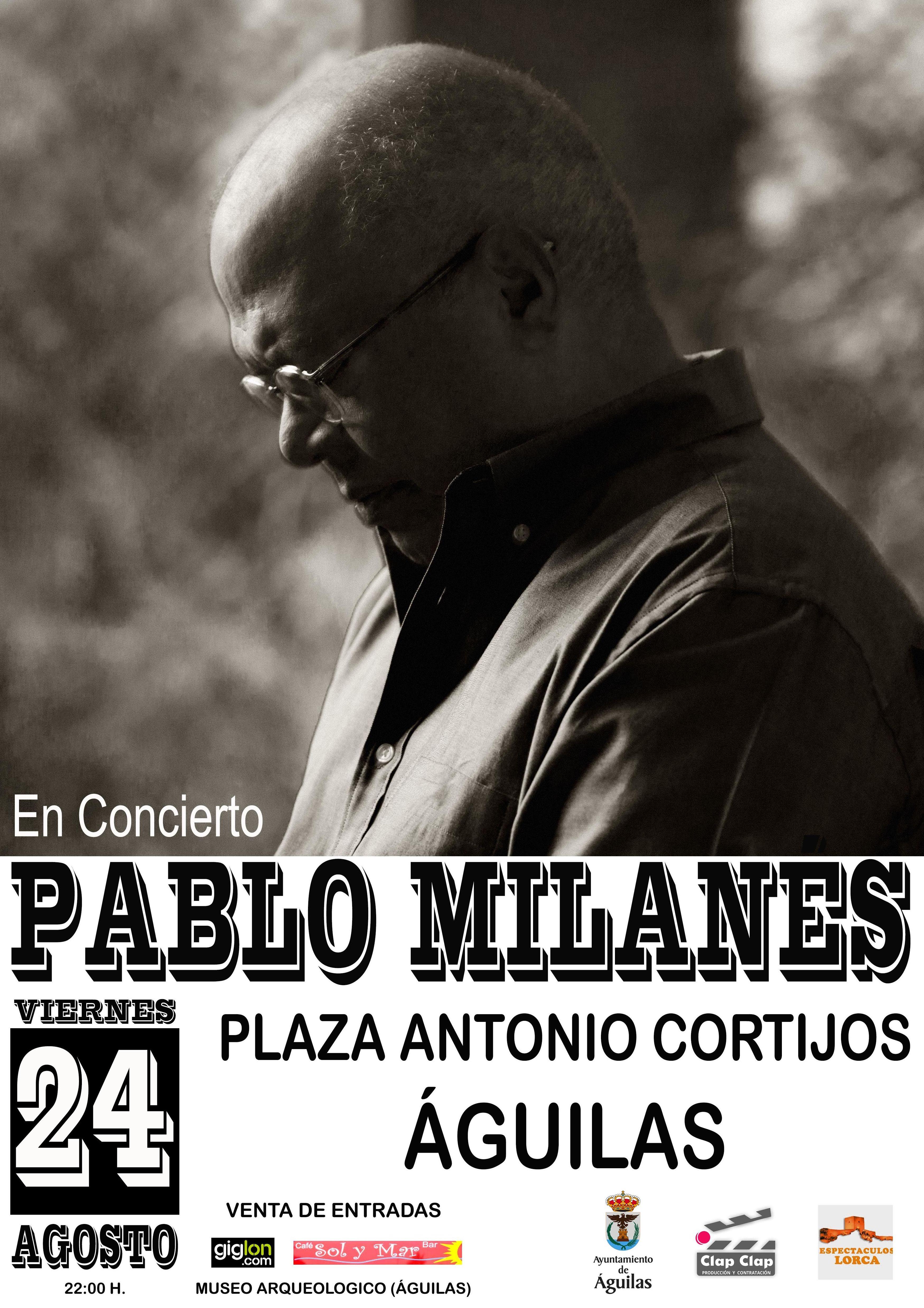 Pablo Milanes : Catálogo de actuaciones de Espectáculos Clap Clap Producciones, Música, Teatro y mucho más