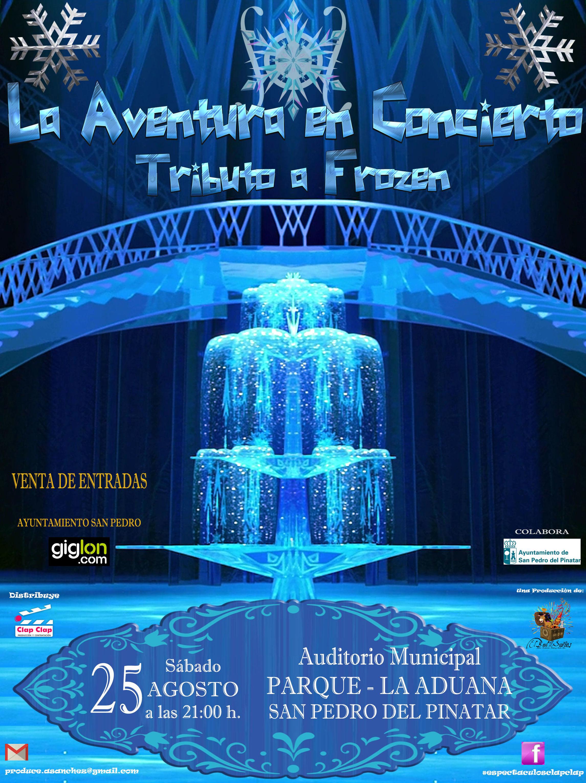 """La Aventura en concierto """" Tributo a Frozen: Catálogo de actuaciones de Espectáculos Clap Clap Producciones, Música, Teatro y mucho más"""