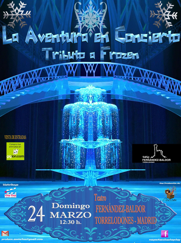 La Aventura en Concierto - Frozen     GIRA 2019 Madrid, Torrelodones