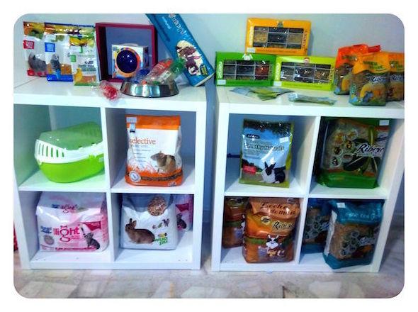 Todo tipo de productos para exóticos, la latina. Madrid. Animal&TÉ