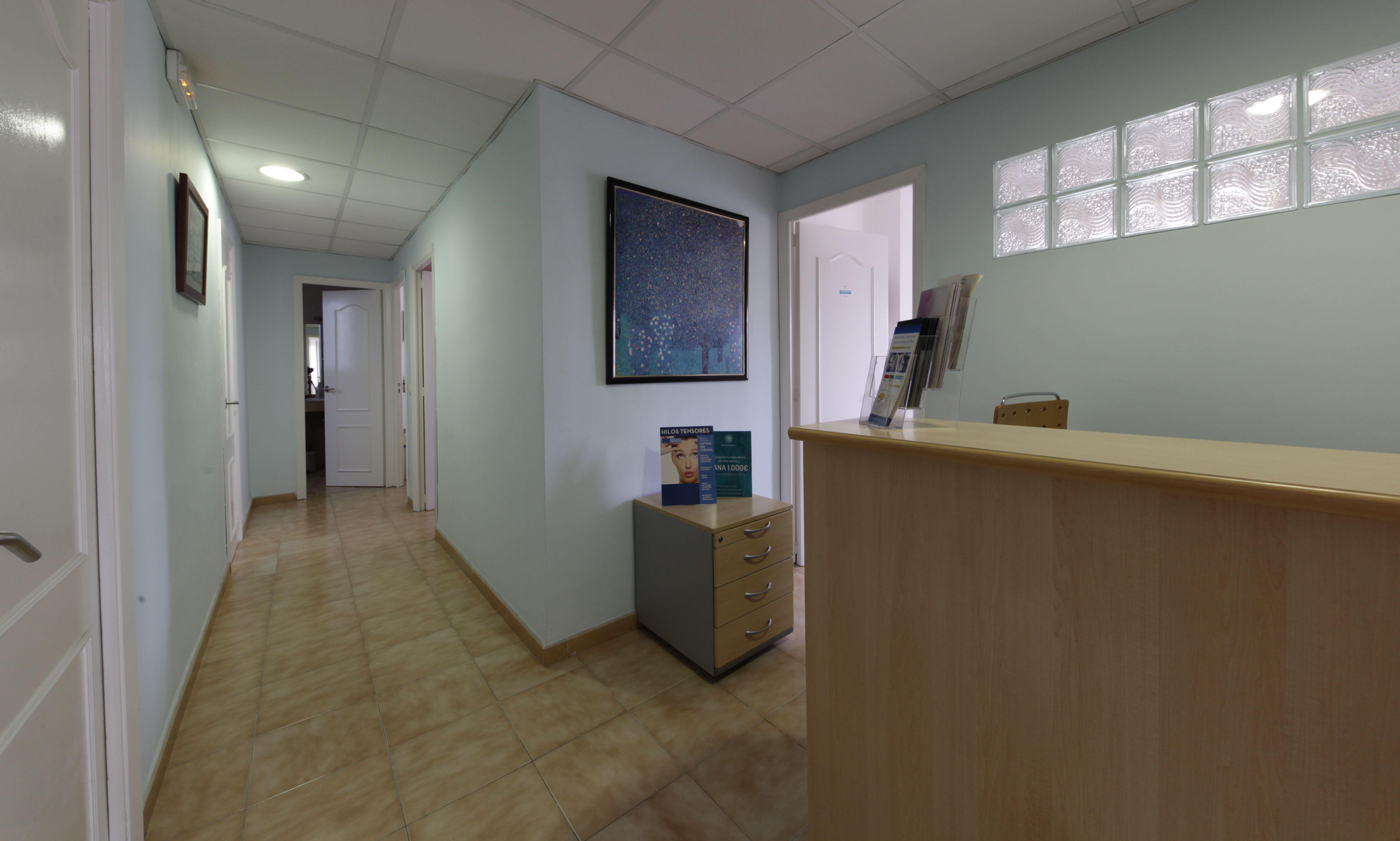 Instalaciones de la consulta de la Dra. Arrom en Palma de Mallorca