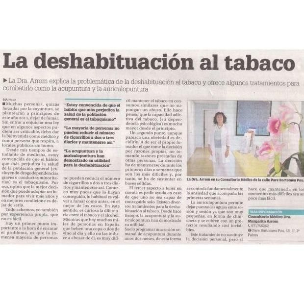 La deshabituación al tabaco