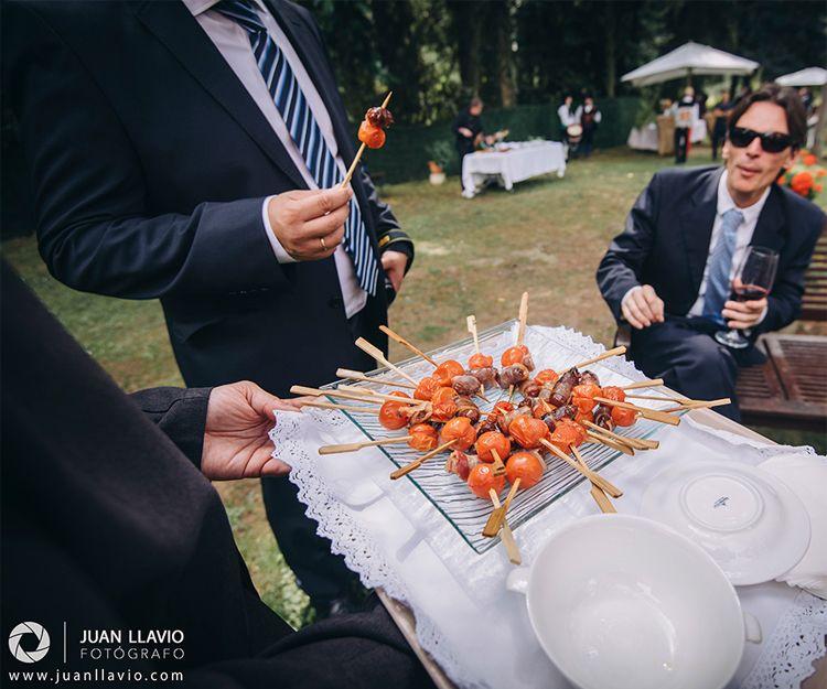 Menús para bodas y celebraciones en Gijón