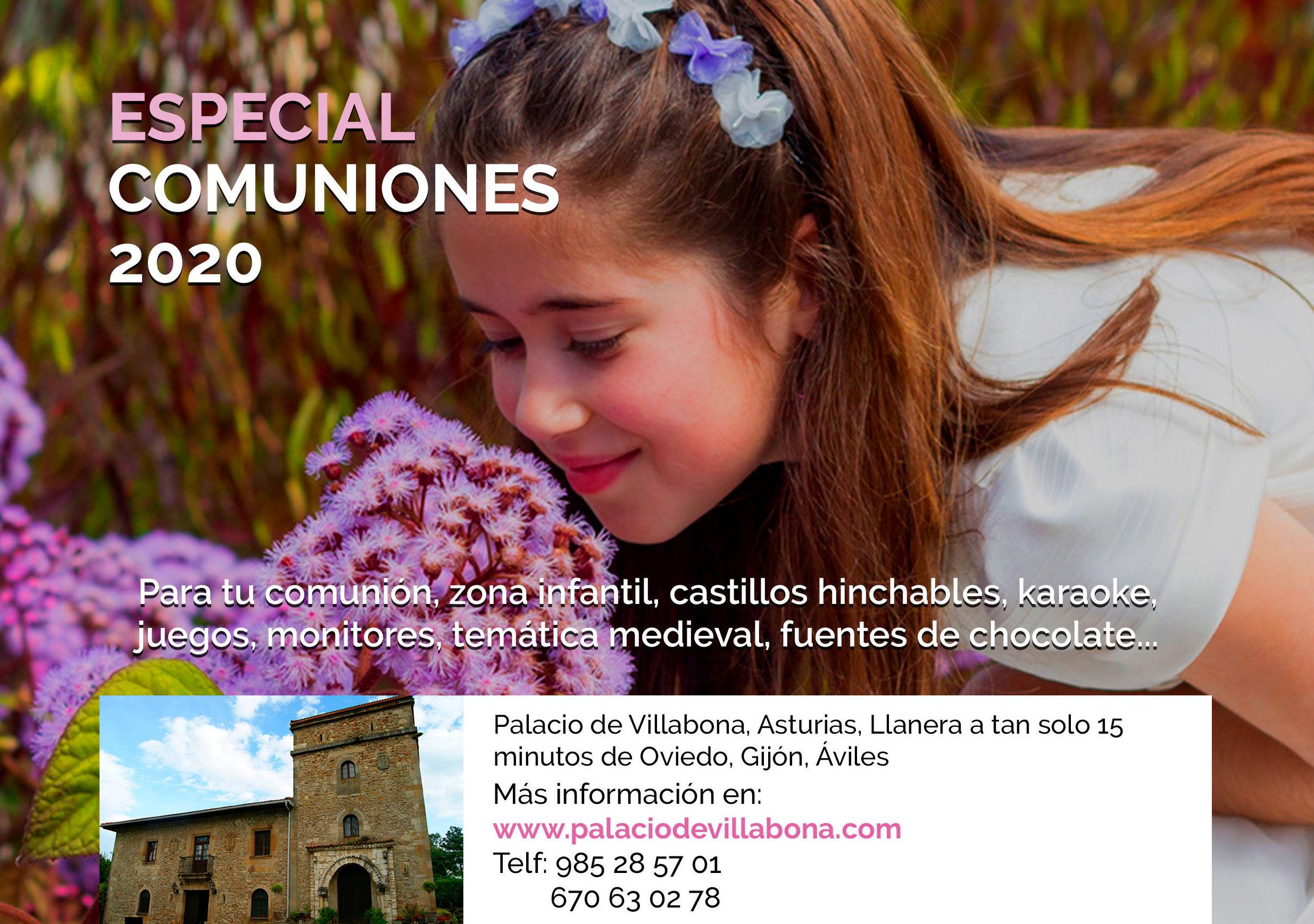 celebracion de comuniones Asturias