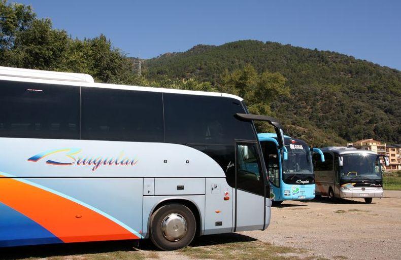 Colaboración con agencia de viajes: Prestaciones  de Autocars Brugulat