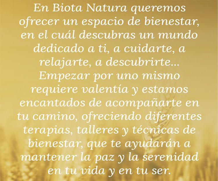 Terapias naturales en Madrid