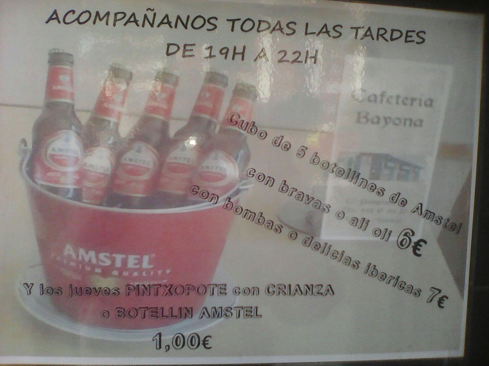 Foto 20 de Cafeterías en Vitoria-Gasteiz | Cafetería Bayona