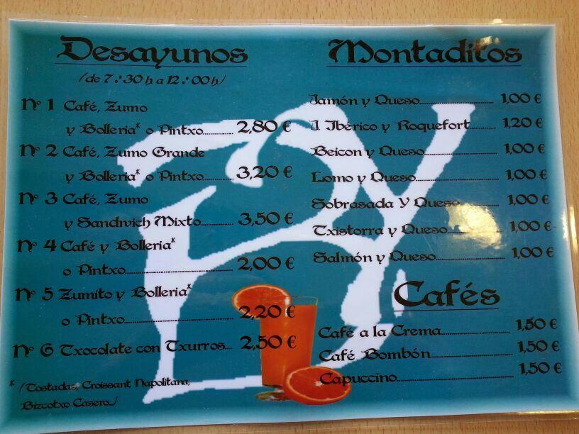 Foto 9 de Cafeterías en Vitoria-Gasteiz | Cafetería Bayona