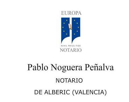 Foto 1 de Notarías en Alberic | Notaría Alberic P. Noguera