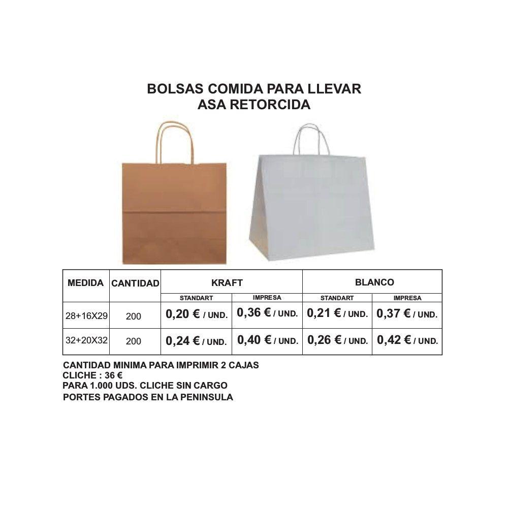 Bolsas de comida para llevar: Productos de Bolsagrafic