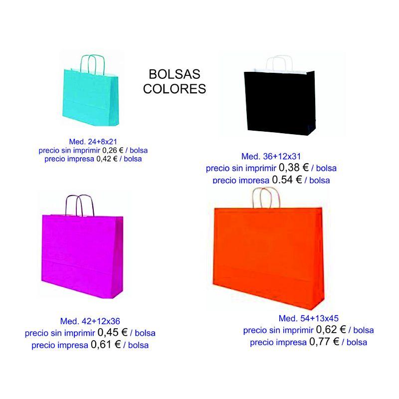 Bolsas de colores modelo Mar