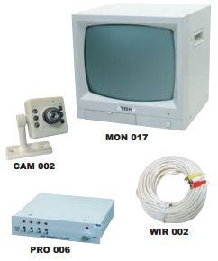 Kits de vigilancia B/N: Productos de Electrónica Praga