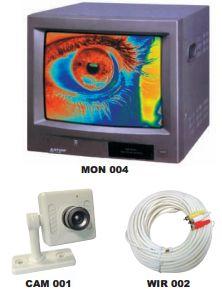 Kits de vigilancia color RF: Productos de Electrónica Praga