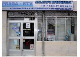 Foto 1 de Electrónica en Madrid | Electrónica Praga