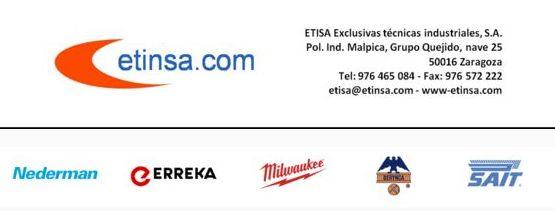 Nueva web de ETISA exclusivas Técnicas Industriales