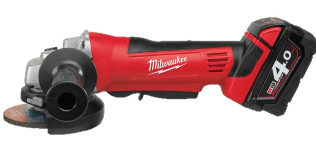 Amoladora baterias Milwaukee HD18AG 125-402C