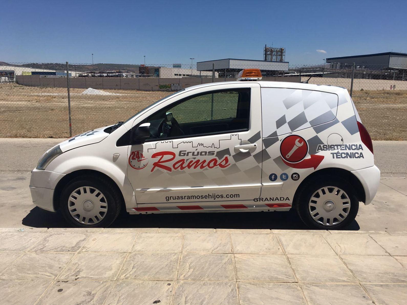 Rotulación Vehículos Granada| EBEN-EZER