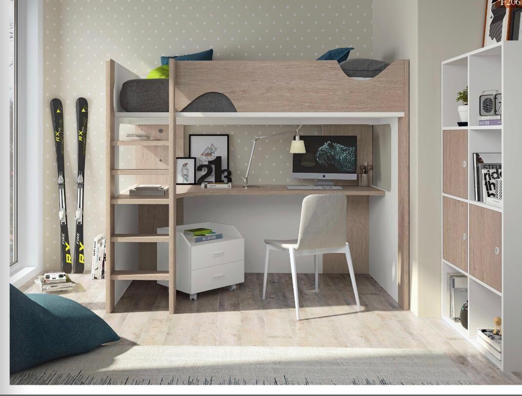 Dormitorios modernos para jóvenes