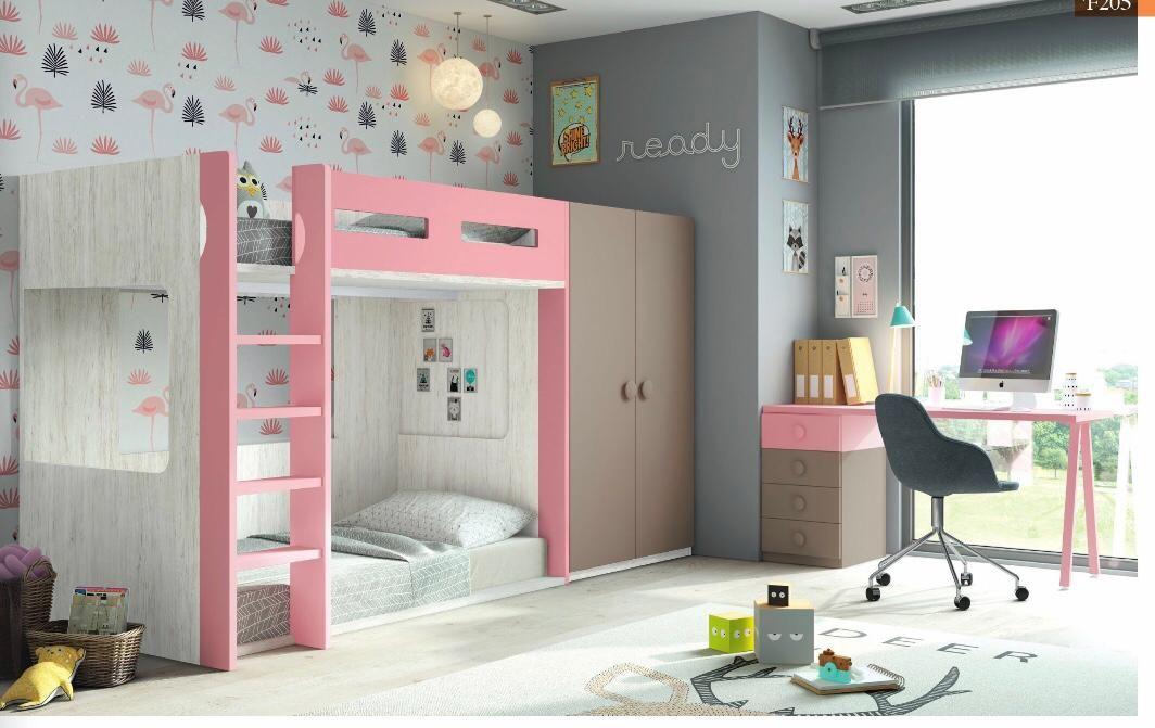 Dormitorios de diferentes estilos para jóvenes