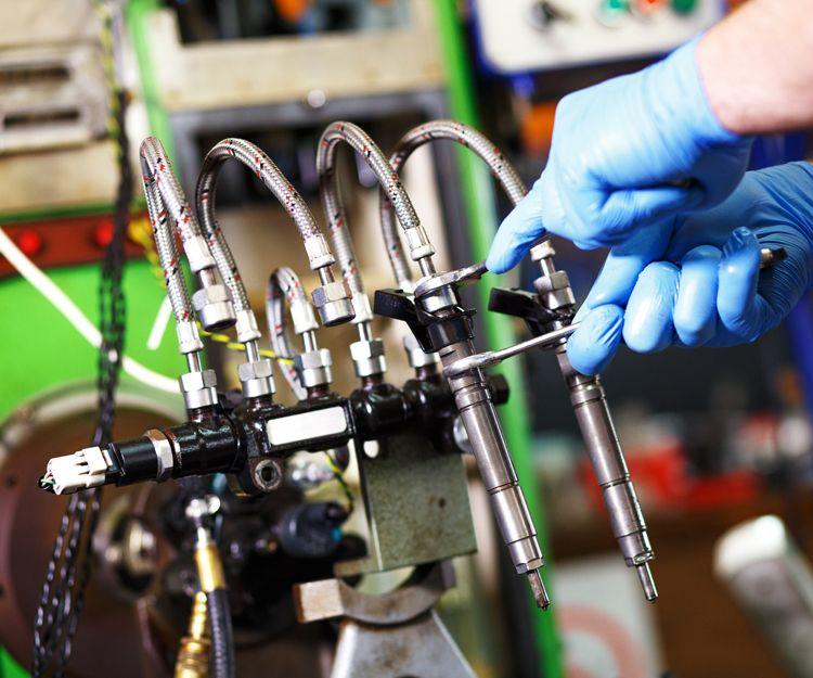 Taller especializado en reparación de inyección diésel