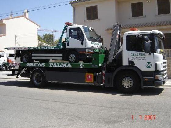 Grúa para furgonetas