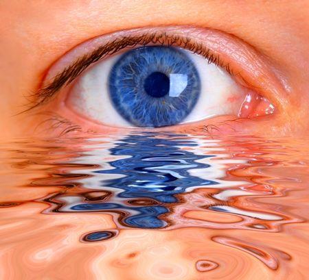 Toma de tensión ocular