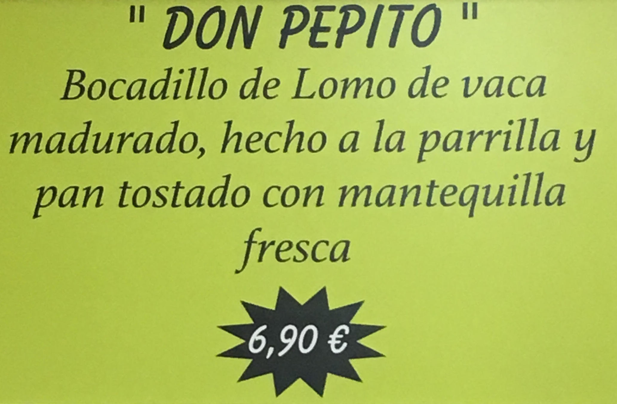 Comer bocatas Mercamadrid / Restaurante Narcea