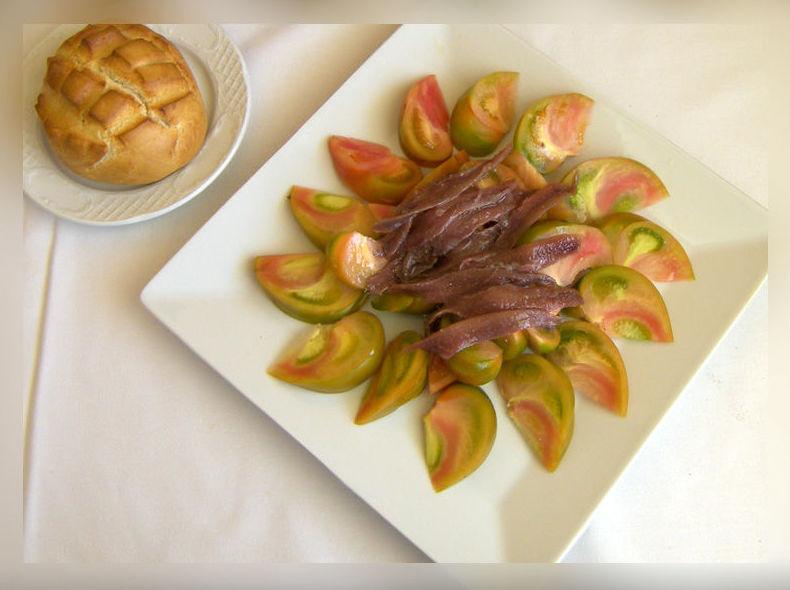 Restaurante con platos del día