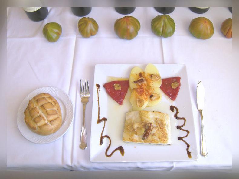 Platos de cocina tradicional con un toque creativo