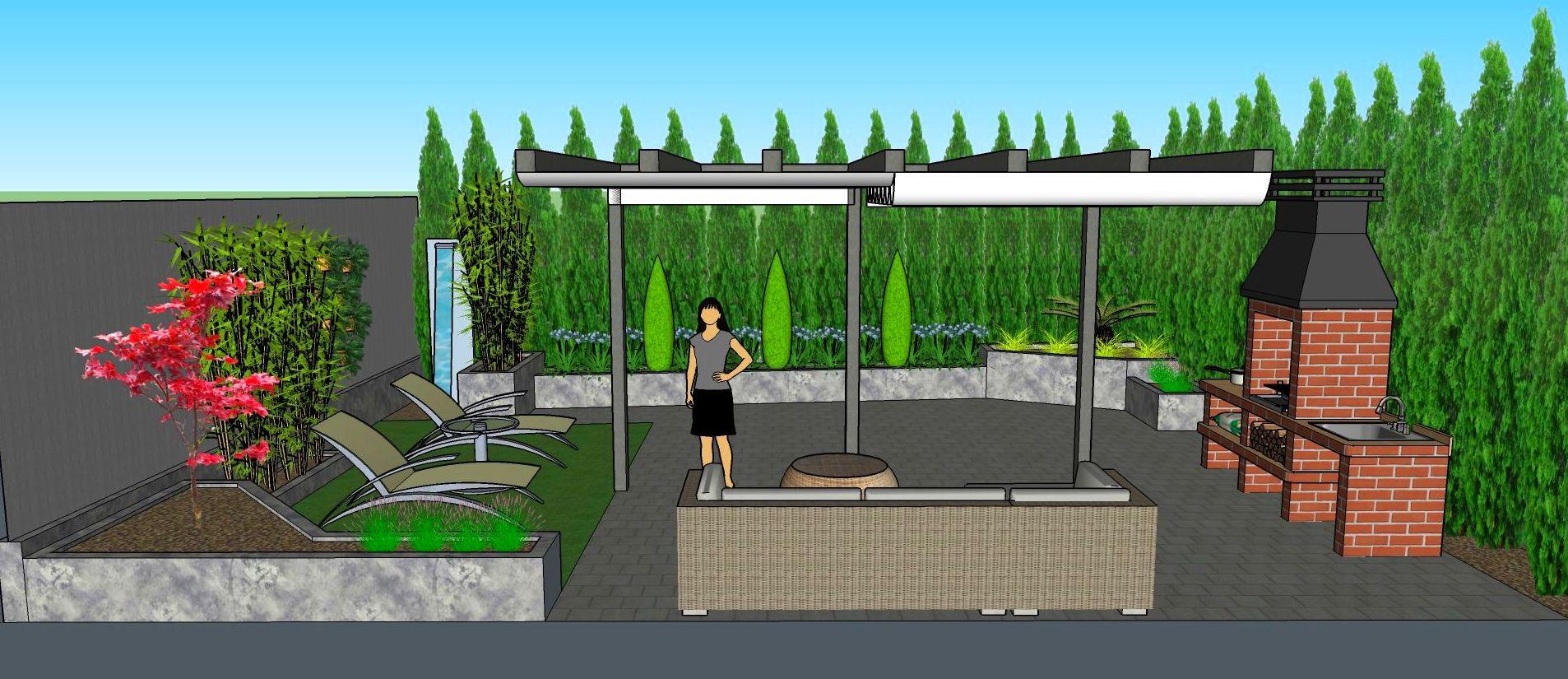 Diseño de pequeño jardín