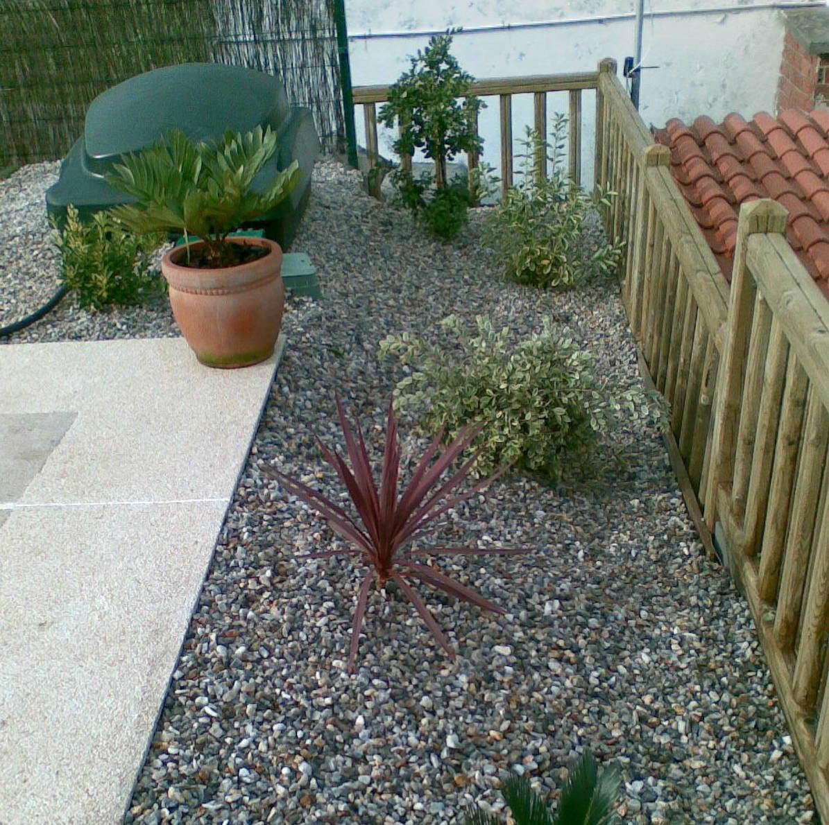 La piedra en decoración de jardines