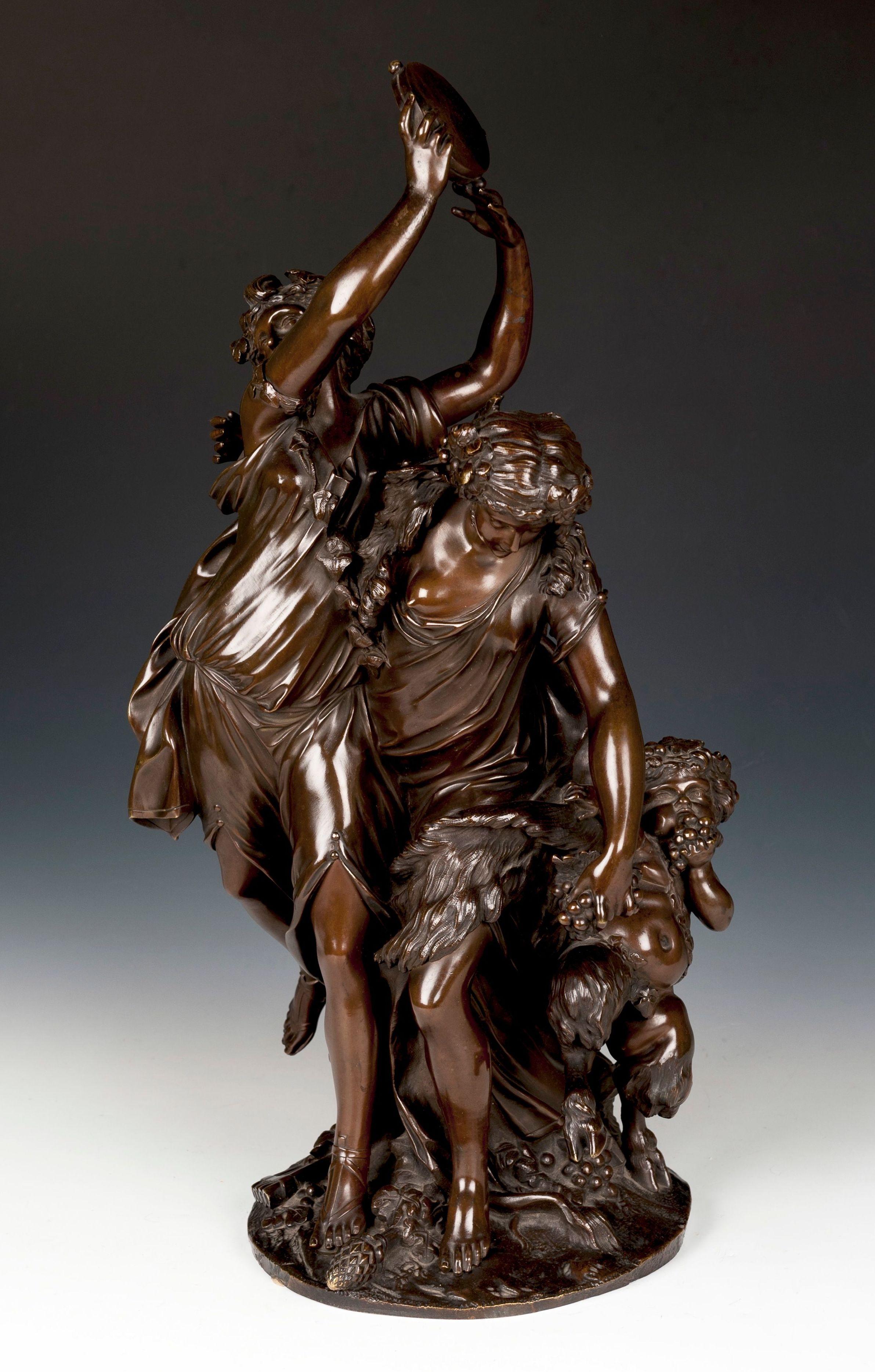 """Bacanal"" de Clodion: Catálogo of Goya Subastas"
