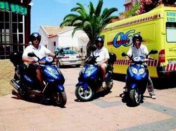 Foto 7 de Socorristas en Pilar de la Horadada | Socorrismo y Ambulancias Horadada, S.L.