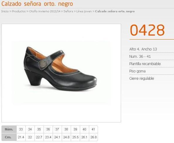Zapatos ortopédicos que no lo parecen.