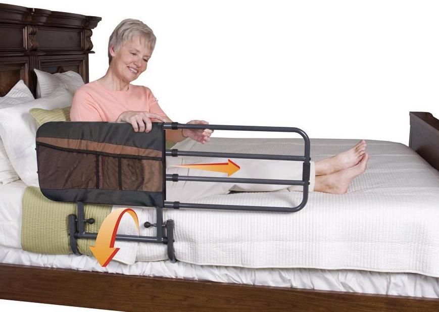Barandillas para evitar caídas de las camas.