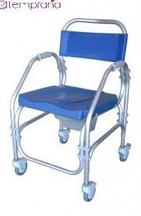 Silla de baño Pacific : Alquiler de sillas de ruedas de Atemprana