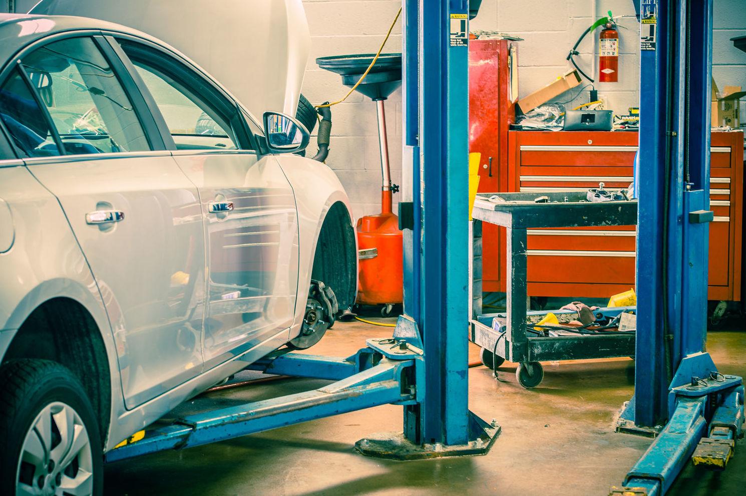 Taller de reparación de automóviles en Madrid
